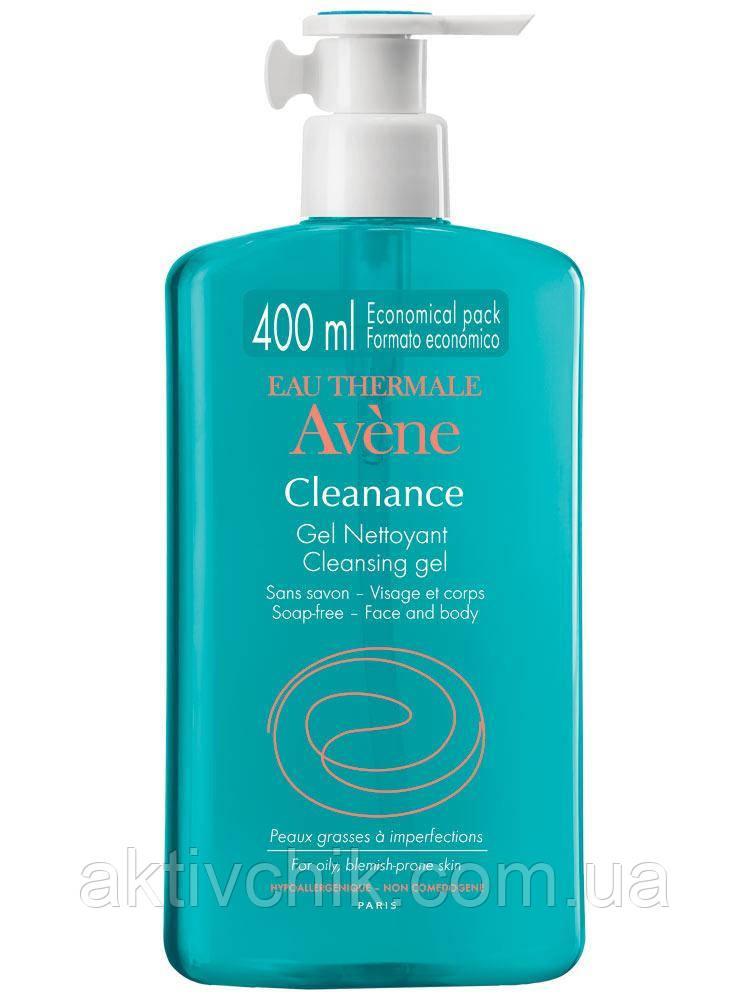 Очищающий гель Авен Клинанс Avene Cleanance Gel 400мл