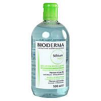 Мицеллярная вода Биодерма Себиум Bioderma Sebium H2O Micellaire Solution 500