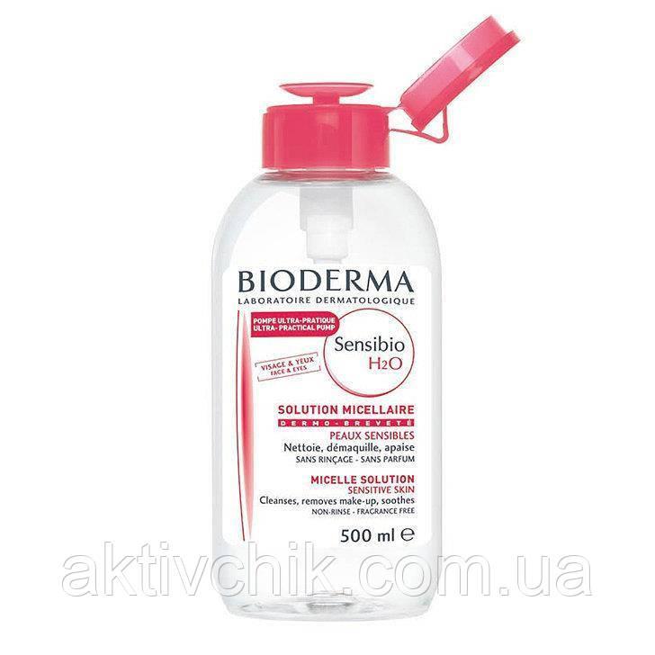 Міцелярна вода Bioderma Sensibio Crealine H2O Micellaire Solution 500 мл