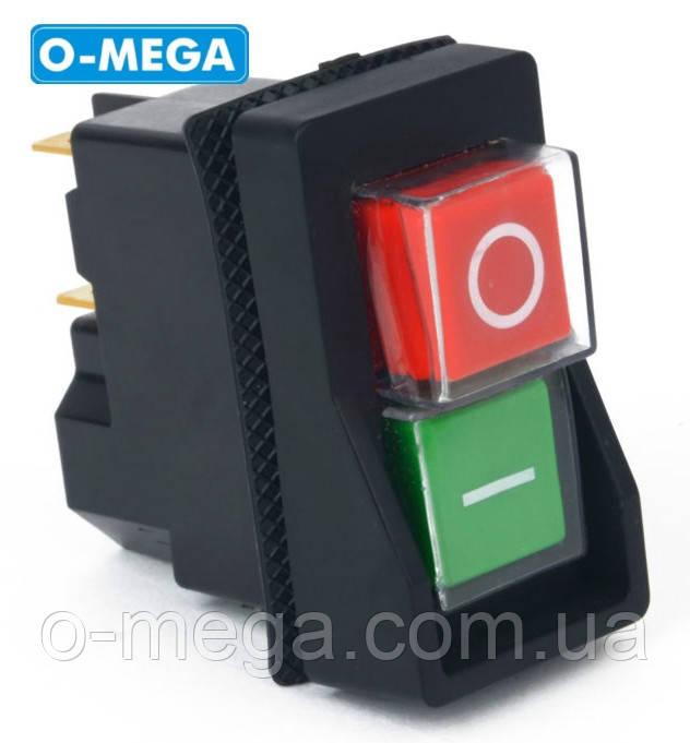 Кнопка (магнитный пускатель) к бетономешалке двойная KLD28 на 4 контакта