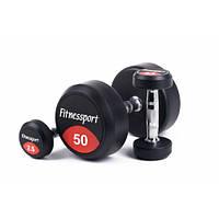 Гантельный ряд FitnesSport FDS-10 2,5-50 кг / 20 пар / шаг 2,5 кг