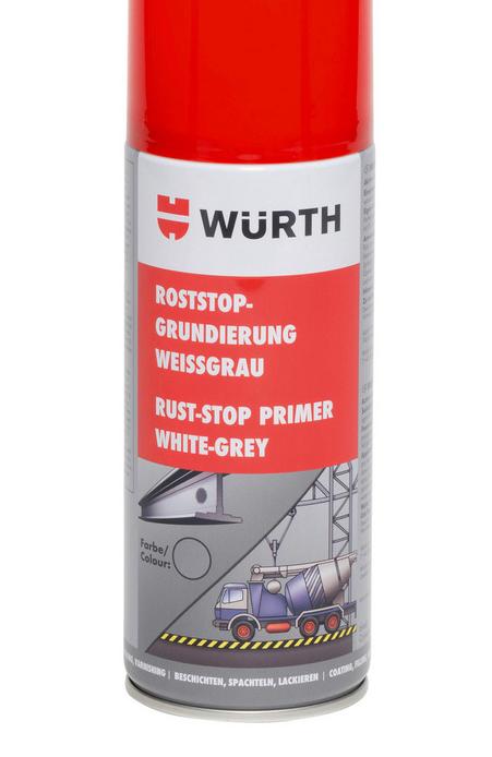 Грунтовка для захисту від іржі RUST-STOP Wurth | Грунтовка для защиты от ржавчины RUST-STOP Wurth