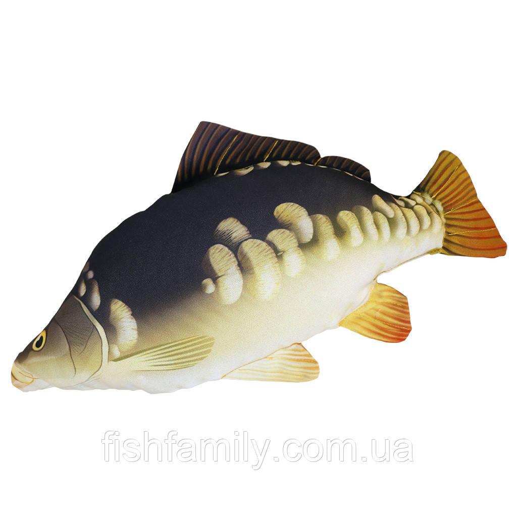 Подушка-рыба Gaby Зеркальный Карп 35х15см(3KB2005)