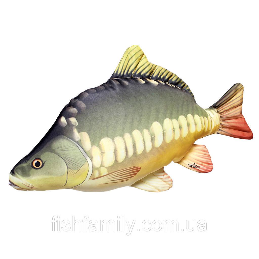 Подушка-рыба Gaby Зеркальный Карп 61х30см(3KB2006)
