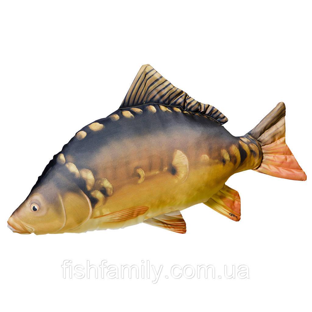 Подушка-рыба Gaby Зеркальный Карп 90х55см(3KB2007)