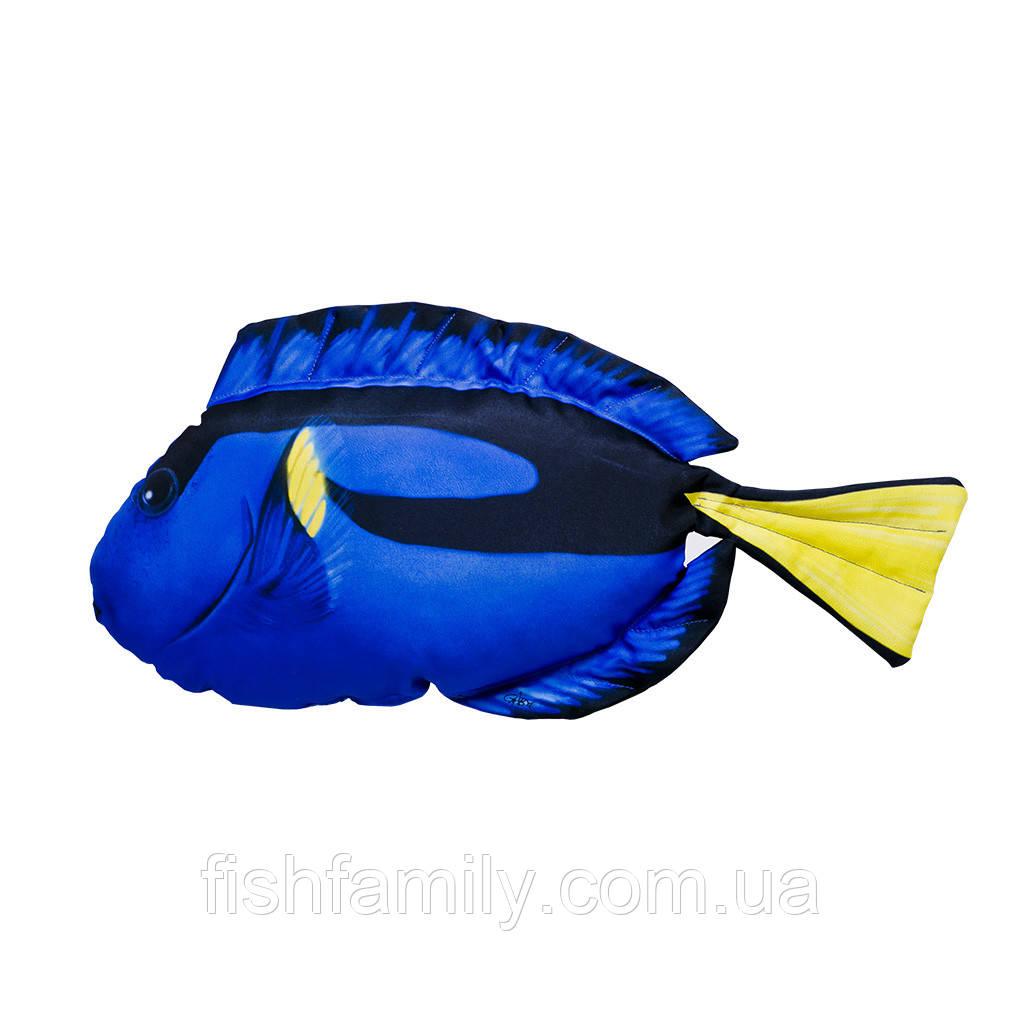 Подушка-рыба Gaby Голубой хирург 56х25см(3KB2055)