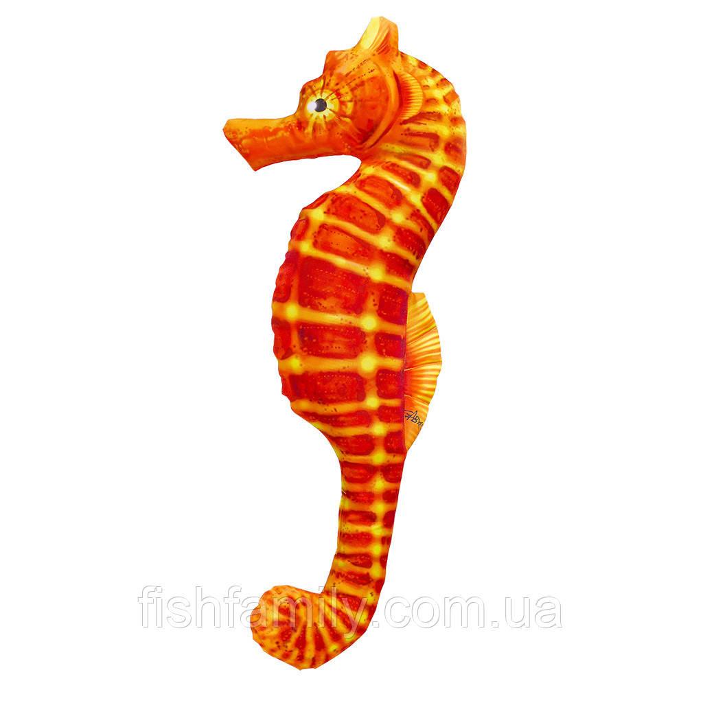 Подушка-игрушка Gaby Морской конёк оранжевый 60х25см(3KB2069)