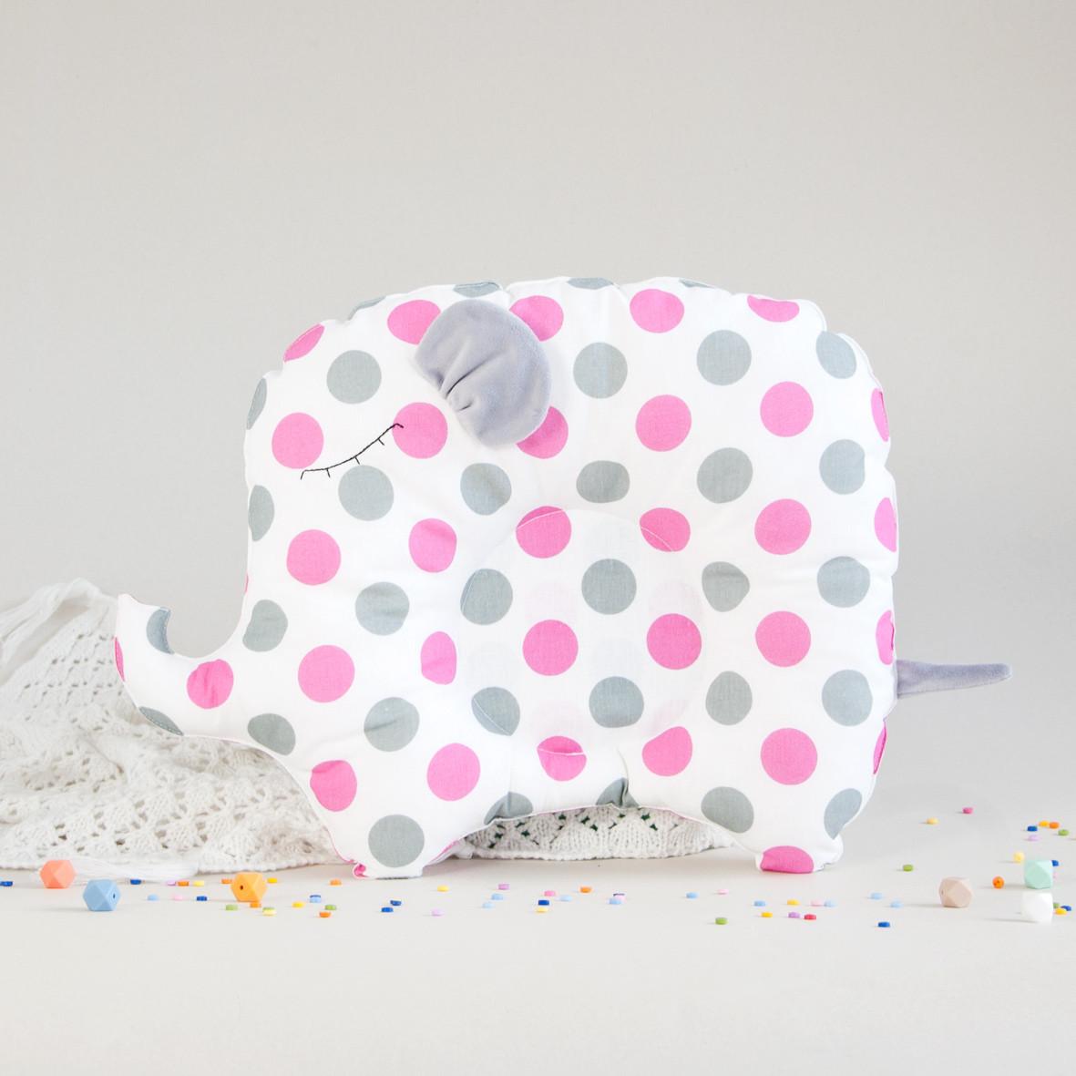 """Подушка для новорожденного """"Pink Dots"""""""