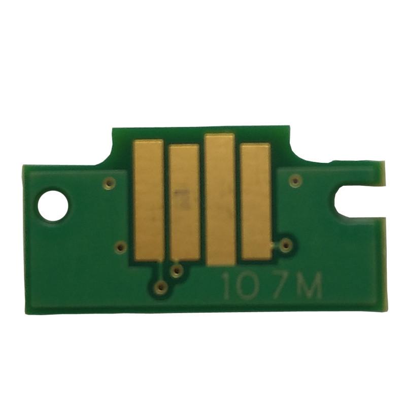 Чип Ocbestjet для картриджа Canon PFI-107M для плоттеров Canon iPF670/iPF770, Magenta