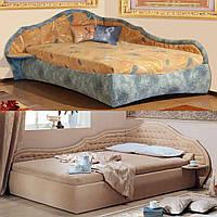 Кровать с матрасом деревянная «Вероника»