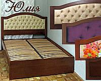 Кровать двуспальная деревянная «Юлия», фото 1
