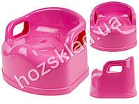 Горшок детский SL со съемной чашей и крышкой (цвет розовый) Консенсус