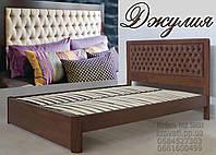 Кровать полуторная деревянная «Джулия», фото 1
