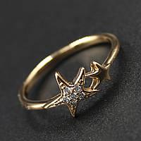 "Кольцо женское Xuping( Хьюпинг) ""Okra"""