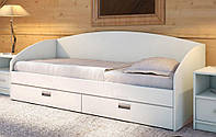 Ліжко полуторне дерев'яна «Настя»