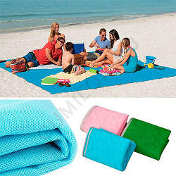Пляжная подстилка Анти-песок 200х150 (Коврик Sand Free Mat)