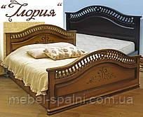 Кровать с ящиками деревянная «Глория»
