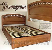 Кровать с ящиками деревянная «Екатерина»
