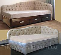 Кровать с ящиками деревянная «Злата»