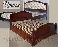 Кровать с ящиками деревянная «Ирина»