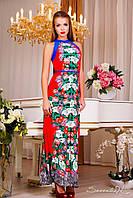 Платье 0862 красный
