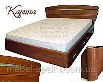 Кровать с ящиками деревянная «Карина»