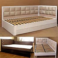 Кровать с подъемным механизмом деревянная «Агата»