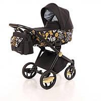 Дитяча коляска 2 в 1 Invictus V-Print Golden