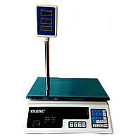 Весы торговые Wimpex со стойкой (батарея 6в) D10033