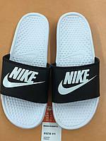 Шлепанцы мужские Nike 328M 818736-01 Б\Ч