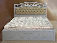 Кровать с подъемным механизмом деревянная «Елена»