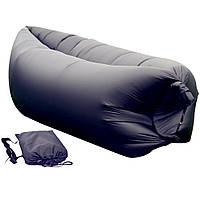 Надувной матрас Ламзак Lamzac AIR CUSHION sofa -- Чёрный D10031