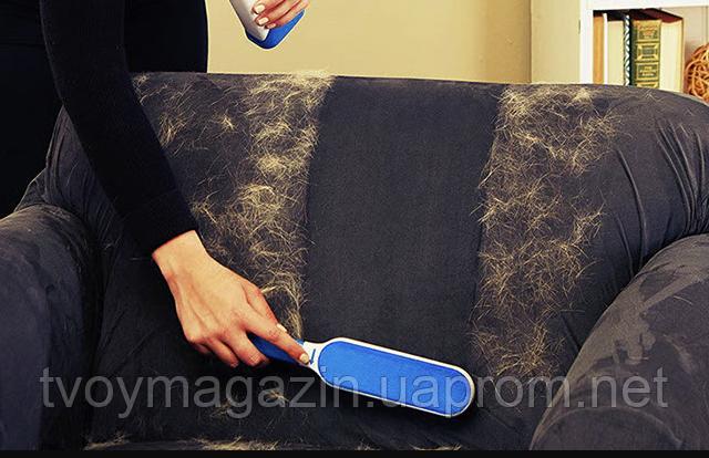 Щетка Fur Wizard+ Массажная перчатка True Touch ( рукавичка для чищення тварин )