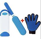 Щетка Fur Wizard+ Массажная перчатка True Touch ( рукавичка для чищення тварин ), фото 2
