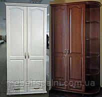 """Шифоньер шкаф для одежды """"Дуэт"""" на заказ белый угловой"""