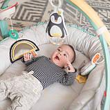 Развивающий музыкальный кокон с дугами коллекции «Полярное сияние» 4-в-1 – Уютное гнездышко  Taf Toy, фото 4