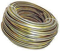 Шланг для полива армированный 3/4 х 50м Зебра EVCI PLASTIK 663, фото 2