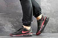 Летние мужские кроссовки Nike Free Run 5.0 Летние кроссовки в стиле Найк, сетка черные с красным