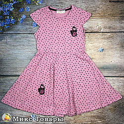 Плаття для дівчинки Розміри: 110 і 116 см (8463-1)
