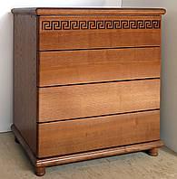 """Комод деревянный """"Афродита"""" с ящиками в спальню белый от производителя"""