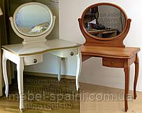"""Туалетный столик - трюмо с зеркалом, трельяж """"Император"""""""