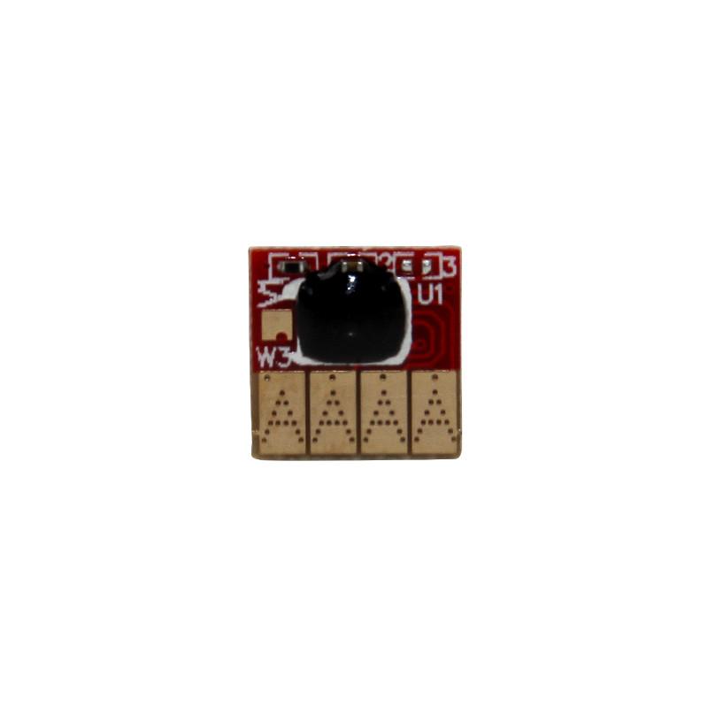 Авточип Ocbestjet для картриджа HP №711 для плоттеров HP DesignJet T120/125/130/520/525/530, Black