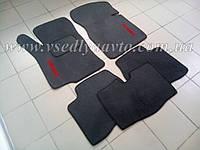 Ворсовые коврики MAZDA 323 F с 1995 г. 5-дверка (Серые)