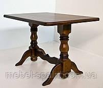Стол обеденный деревянный 4