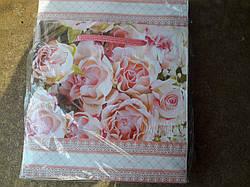 Подарочный бумажный пакет ЧАШКА ''Нежные'' (16*16*8)