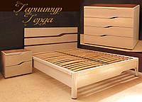 """Мебель для спальни """"Герда"""" спальный гарнитур. Красивая, деревянная белая спальня"""