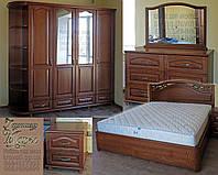 """Мебель для спальни """"Марго 1"""" спальный гарнитур. Красивая, деревянная белая спальня"""