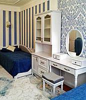"""Детская мебель из дерева """"Лорд 1"""" спальня для детей девочки, мальчика, подростка белая деревянная"""