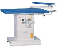 Стол гладильный Malkan UP102AK  220 V 380V (прямоугольный с вакуумным отсосом, наддувом и рукавом), фото 1