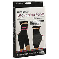 Эластичные бриджи для похудения ultra sweat stovepipe pants